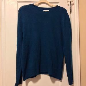 H&M teal sweater
